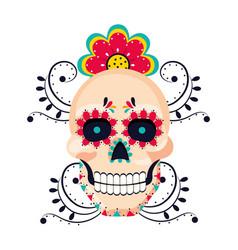 mexican culture mexico cartoon vector image