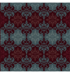 Ottoman motifs abstract background vector