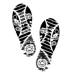 Run marathon wallpaper shoes print vector