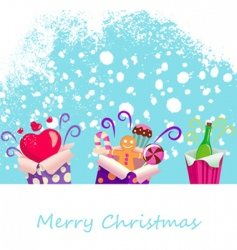 surprise gifts vector image
