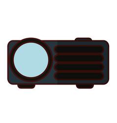 video beam technology vector image