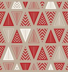 winter holidays seamless pattern vector image