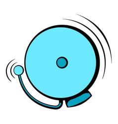 fire alarm icon icon cartoon vector image vector image
