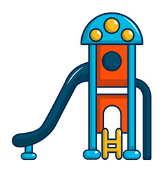 kids slide icon cartoon style vector image vector image