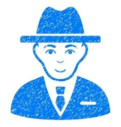Agent Grainy Texture Icon vector