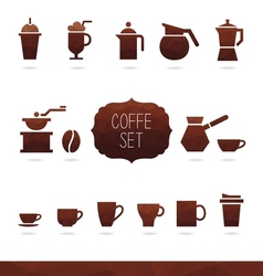 Coffe Set vector image