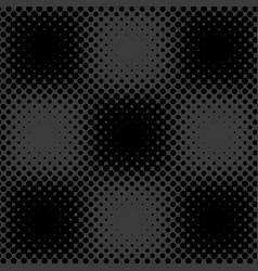 Dark grey black halftone background vector