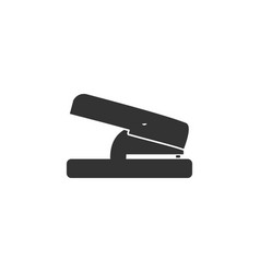hole puncher icon flat vector image