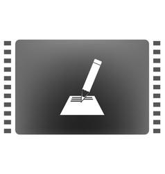 note pad icon vector image