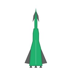 nuclear missile icon vector image