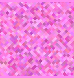 Pink square pattern background - geometrical vector