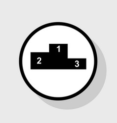 Sofa sign flat style icon vector