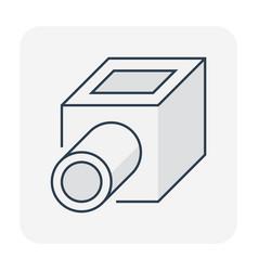 Sump pit icon vector