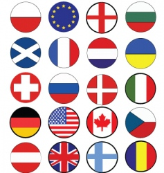 nation flags vector image