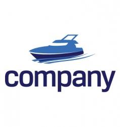 yacht logo luxury lifestyle vector image vector image
