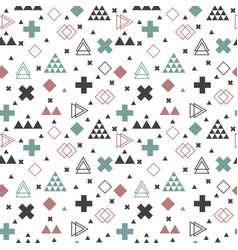 geometric scandinavian seamless pattern abstract vector image vector image