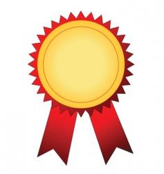 winner badge vector image vector image