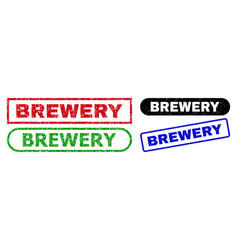 Brewery rectangle seals using unclean texture vector