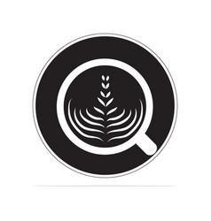 coffee cappuccino icon concept vector image