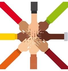 Diversity people design vector