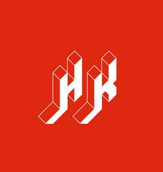 hk - international 2-letter code or national vector image