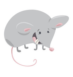 Mouse cartoon vector
