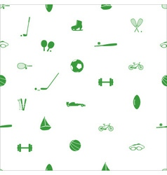 Sport equipment pattern eps10 vector