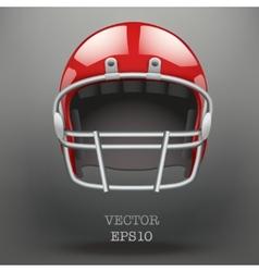 Background of american football helmet vector