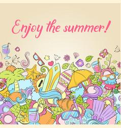 summer background wallpaper texture postcard vector image