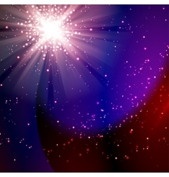 Abstract magic light background vector image vector image