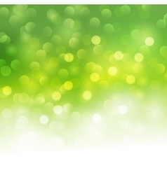 bokeh light background vector image