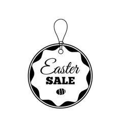 easter sale offer vector image vector image