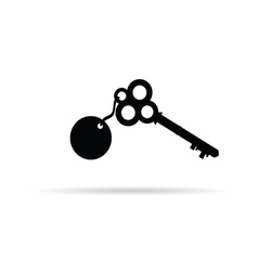 old key vector image