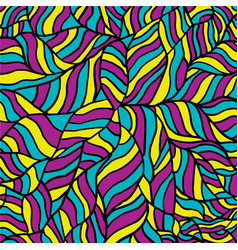 bright wave pattern seamless background vector image vector image