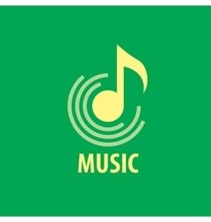 logo musik vector image