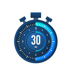 30 minutes stopwatch icon stopwatch vector