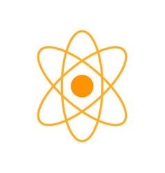 atom icon atom symbols isolated vector image