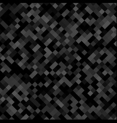 Dark grey square pattern background - geometrical vector