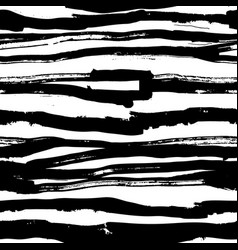 horizontal stripped brush strokes ready to print vector image