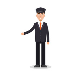 Limo driver character vector