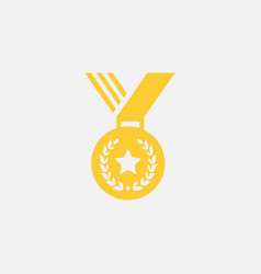 medal icon logo icon medalion icon vector image