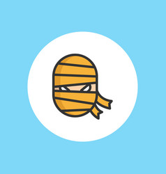 mummy icon sign symbol vector image