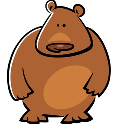 Doodle bear vector