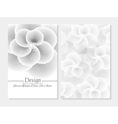 abstract booklet cover Beauty brochure vector image