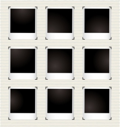 instant picture gallery vector image vector image