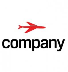 transportation by air logo vector image