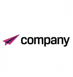 air transport logo vector image vector image