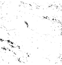 Grunge texture white and black vector image vector image