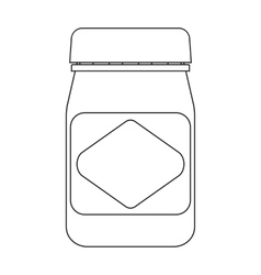 Australian food spread icon in outline style vector