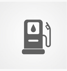 fuel station icon sign symbol vector image